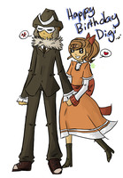 .:Happy Birthday Digi:. by QueenPaige