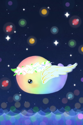 Whale - Flower Fairy for Rainbow640 by wittle-wailing-whale