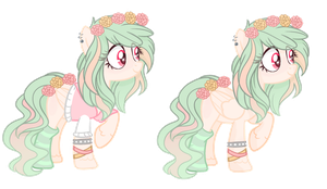 [PONY] Flower Oc-OPTA CLOSED by TreeGreen12