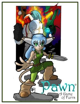 Pawn A Game Of Furrs by TheWebTroll