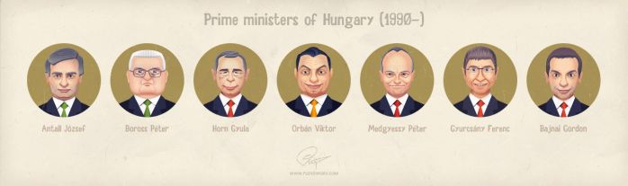 Prime ministers of Hungary since 1990 by floydworx