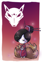 Lady Kitsune poster by CraigArndt