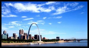 St.Louis From A Bridge by PridesCrossing