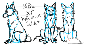 Canine back leg tutorialsitting down by felondog on deviantart sitting refs by jaole ccuart Image collections