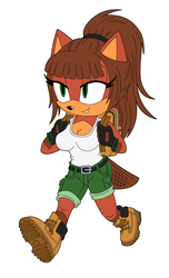 Comm: Bethany the Beaver by PrototypeTheory