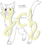 Your Oc In Cat's Style - YCH (1/10) by Askardle