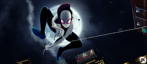 Spider-Gwen by badaritist25