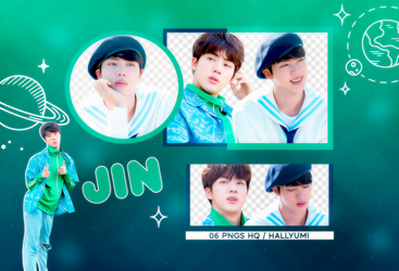 PNG PACK: Jin #6 by Hallyumi