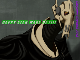 Star Wars Day - General Grievous by PurpleRAGE9205