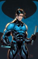 Nightwing blue by Kid-Destructo