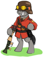Pony request 123 - Soldier by ah-darnit
