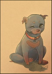 Pup by Alyssizzle-Smithness