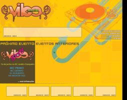 Layout Vibe Eventos by itsmylove