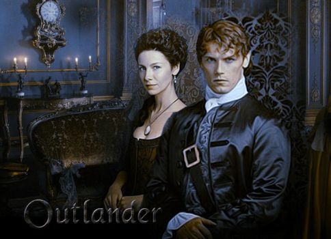 Outlander: Jamie and Claire by DLR-Designs