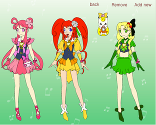 Axis Powers Pretty Cure! by DreamNotePrincess