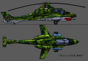 Attack helicopter by Darkheart1987