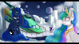 What the hell!Luna by Dezdark