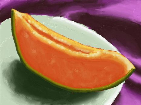 And this is a melon of some kind by SkyeeLine