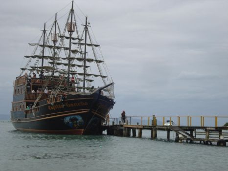 Pirate ship - stock by thanianery