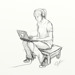 'Laptop' by Angelix88