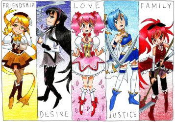 magical girls by PastelPyre