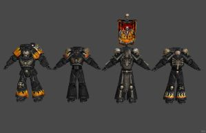 'Warhammer 40k' Legion Of The Damned XPS ONLY!!! by lezisell