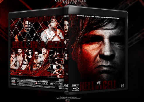 WWE Hell In A Cell 2014  Blu-Ray Cover by JoKeRWord