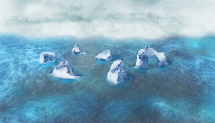 awholebunchoficebergs. by Eva-ve