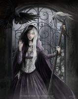 The Darkness Within by CLB-Raveneye