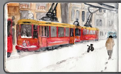 Old tramway by SimonASA