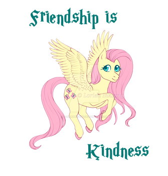 Friendship is Kindness by LorienInksong