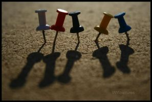 In a row by WWpictures
