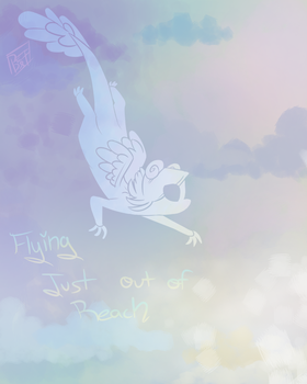 Flying just out of reach... by OneWaywardSoul