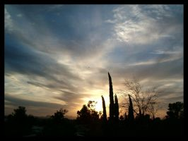 Tucson Sunset 3 by Lews-Therin
