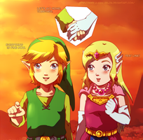 Little saviors (Color) by Queen-Zelda