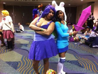 Megacon 2013: LSP and Fionna by the-iron-sea