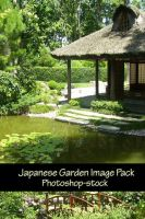 Japanese Garden Image Pack by photoshop-stock