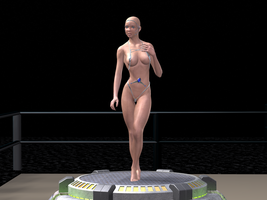 Miss Cybernized Pageant - Contestant 1 by creativeguy59