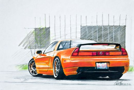 Acura NSX by Ness1000