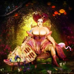 Queen of Hearts by Toefje-Kunst
