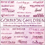Common Children Lyrics Brushes by jordannamorgan