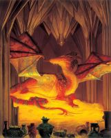 Smaug: The Golden by DonatoArts