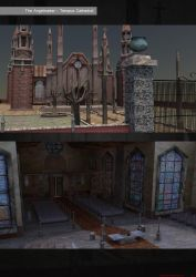 Tempus Cathedral Layout II by badzter09