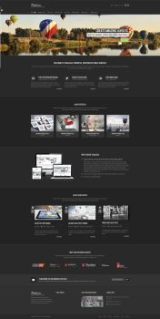 Thalassa Extensive HTML5 Template Black Version by pixel-industry