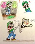 Luigi Sketches by pandaserules97