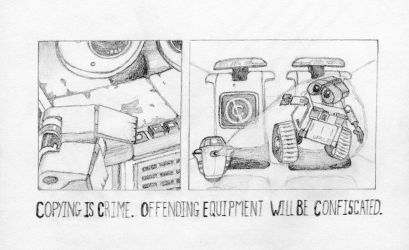 WALL-E Copywrong by StoicLewy