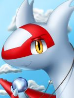Character Portrait: Latias by EvanDaMaster