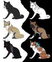 Free Fox Adopts CLOSED by galianogangster