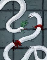 Grimm's: The 3 Snake Leaves by theartful-dodge