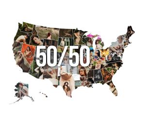 50 Models | 50 States by lepersabstain